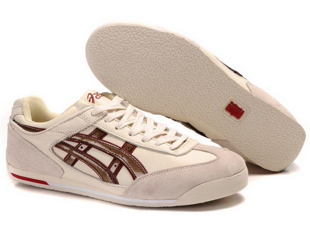 Onitsuka Tiger 2012 Shoes Beige Chocolate