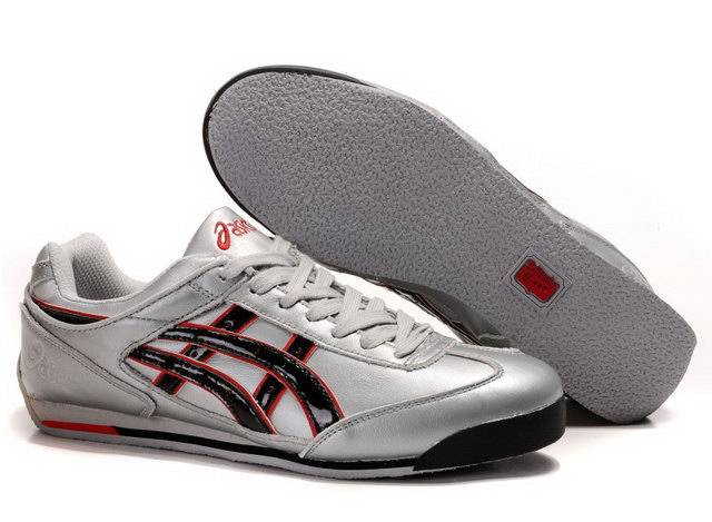 Onitsuka Tiger 2012 Shoes Silver Black Red