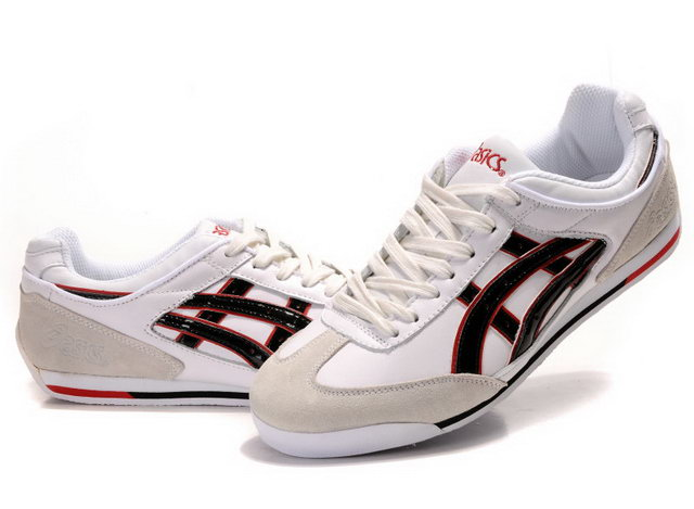 Onitsuka Tiger 2012 Shoes White Beige Black Red