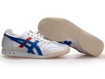 Onitsuka Tiger 60th Anniversary Shoes White Blue Red