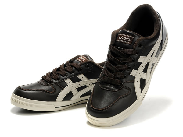 Onitsuka Tiger Alton Shoes Brown Cream