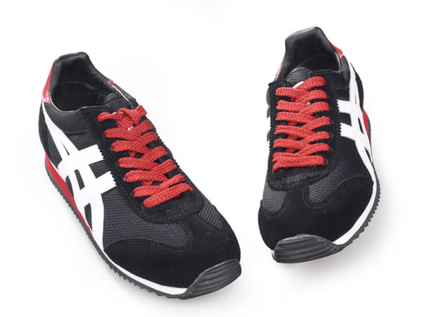 Onitsuka Tiger California Shoes Black White for womens
