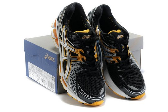 Onitsuka Tiger GEL KAYANO 17 Running Shoes Black Yellow