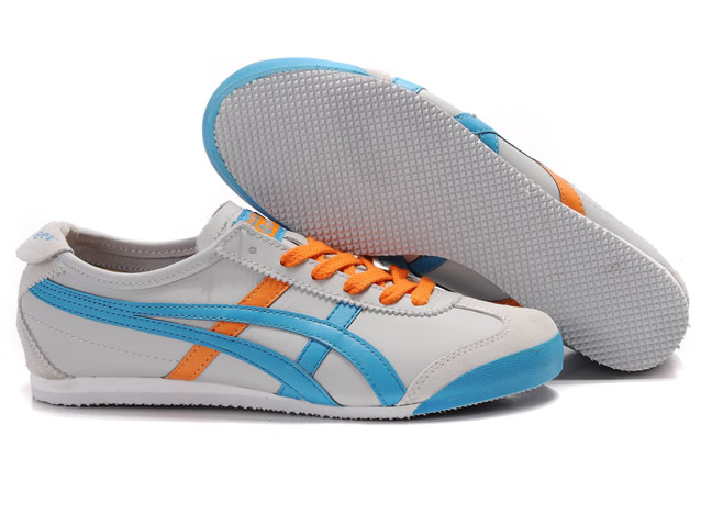 Onitsuka Tiger Mexico 66 Shoes Orange Blue White