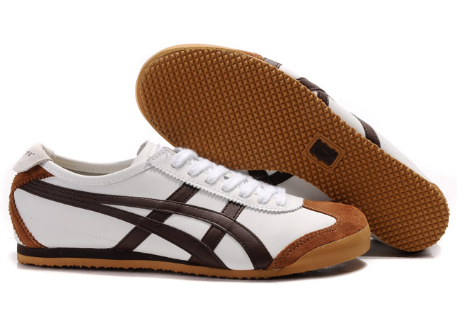 Onitsuka Tiger Mexico 66 Shoes White Chocolate
