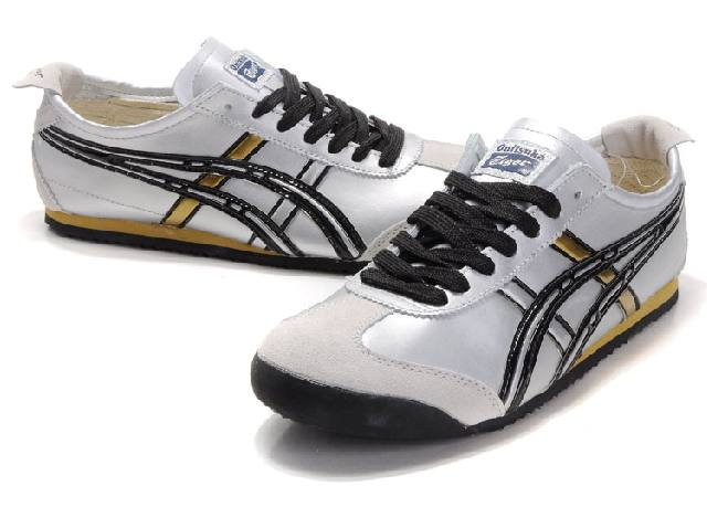 Onitsuka Tiger Mexico 66 White Black Gloden