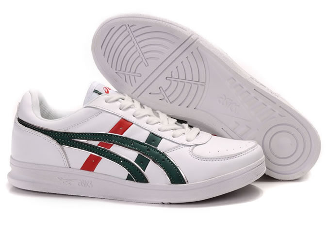 Onitsuka Tiger Top Seven Shoes White Green Red
